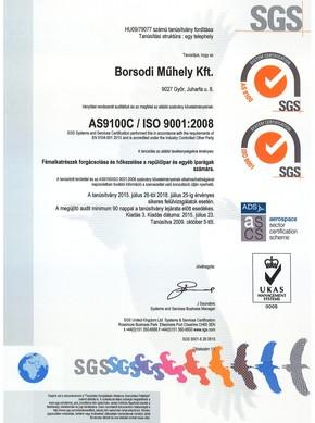 AS9100C / ISO 9001:2008