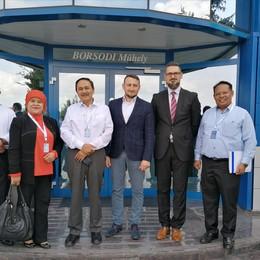 Indonéz nagykövet látogatás