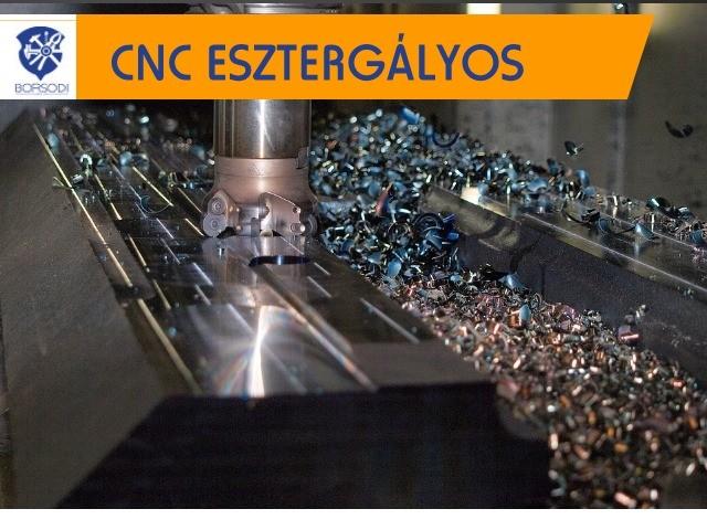CNC ESZTERGÁLYOS